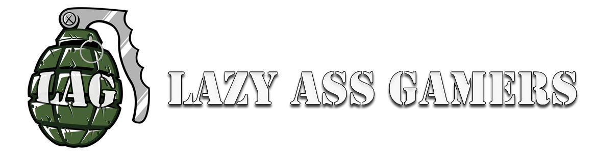 Lazy Ass Gamers logo